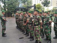 Pengamanan Wilayah Saat Libur Kodim 0503/JB Gelar Apel Pasukan