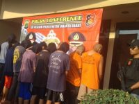 Aniaya Remaja Hingga Tewas,14 Anggota Geng Motor Dibekuk Polisi