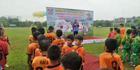 Turnamen Sekolah Sepak Bola Ramaikan HUT Kota Tangerang Ke 26