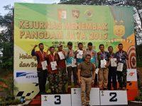 Masuki Hari Ketiga Kejurnas Menembak Pangdam Jaya, Bagikan Hadiah Untuk Sang Juara