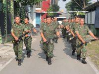 Tingkatkan Kemampuan Jasmani Prajurit Kodim 0735 Surakarta Gelar Latihan Hanmars