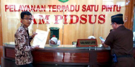 Kasus Honorarium,Patron Lapor Dugaan Korupsi DPRD Kota Tangerang ke Kejagung RI