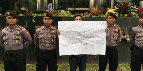 Datangi KPK, Mahasiswa Anti Korupsi Laporkan Bupati dan Kadis PU Kab Lombok Utara