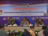 Tingkatkan Soliditas TNI-Polri Hingga Tataran Terendah Hadapi Pemilu 2019