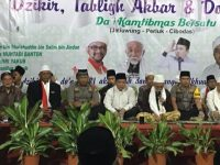 Do'a Untuk Bangsa Da'i Bersama Kamtibmas Bersatu Gelar Dzikir Tabligh Akbar Bersama Di Jatiuwung Tanggerang