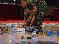 Padukan Rencana Operasi Pam Pemilu 2019 Pangdam Jaya Paparkan TFG di Depan Panglima TNI
