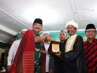 Panglima TNI Silaturahmi Dengan Tokoh Lintas Agama di Ponpes Al Kautsar Al Akbar di Medan