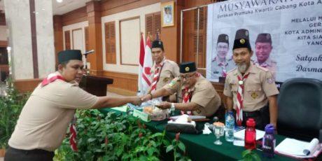 Agus Ramdani Terpilih Menjadi Ketua Kwarcab Gerakan Pramuka Jakarta Barat