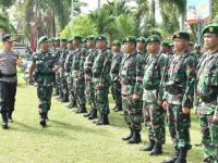 Apel Gabungan Serentak, Dandim 1402/Polmas Tegaskan Netralitas TNI