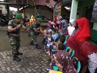 Ingin Dekat Dengan TNI, Anak Paud Mutiara Bunda Kunjungi Koramil 03/Bandongan