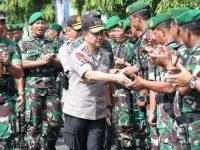 Panglima TNI Bersama Kapolri Kunjungi Mapolresta dan Makodim 0735 Surakarta
