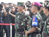 Panglima TNI : Jika Ada Pihak Yang Menggangu Pancasila UUD 45 Dan NKRI Akan Berhadapan Dengan TNI