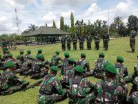 Ketangkasan Permildas Prajurit Yonif 141/AYJP Di Uji Tim Dari Kodiklat TNI AD