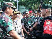 Panglima TNI Bersama Kapolri Cek Kesiapan Prajurit TNi-Polri Hadapi Pengamanan Pemilu 2019 Di Sumut