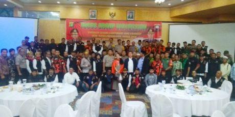 Ciptakan Pemilu Aman dan Damai, Polres Jakarta Barat Gelar Focus Group Discussion di Twin Hotel