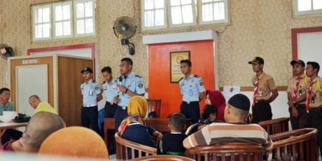 Hilangkan Budaya Pungli,Lapas Pemuda Tangerang Gelar Sosialisasi Kepada WBP dan Keluarga Pengunjung