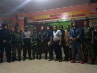 Jelang Pencoblosan TNI Polri Tulang Bawang Gelar Patroli Gabungan Skala Besar