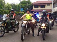 Jelang Pencoblosan, Kapolres bersama Danrem 052/wkr Dandim 0503/JB Gelar Patroli Gabungan