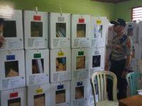 Kapolsek Bangko : Semua Kotak Suara Sudah Di Kelurahan, Situasi Aman Terkendali