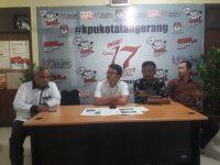KPU Kota Tangerang Sepakat Gelar PSU 27 April di 22 TPS