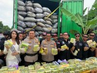 Pelaku Dan Barang Bukti 120 Kg Sabu Diamankan Polisi Stigma Jakarta Barat Surga Narkoba Harus Di kikis
