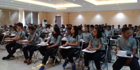 Sebanyak 110 Atlet Pelajar Daerah di Kukuhkan Kadispora Kota Tangerang
