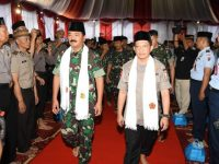 Panglima TNI Dan Kapolri Berbuka Puasa Bersama Keluarga Besar Koarmada – ll Surabaya