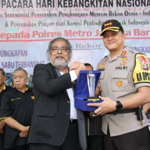 Ungkap Berbagai Kasus Besar Polres Jakarta Barat Banjir Penghargaan