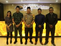 Bersama TNI, Polres Metro Tangerang Kota Gelar Silaturahmi dan Buka Bersama