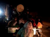 Kades Pulau Pandan Bersama Warganya Adakan Takbir Keliling Kampung