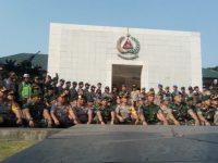 Tingkatkan Sinergitas TNI-Polri Se Tanggerang Raya Adakan Halal Bihalal Di Batalion Infanteri Mekanis 203/AK