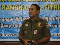 "Kasatpol PP DKI Jakarta""Aparat Satpol PP Dukung Penuh Kebijakan Camat Dan Lurah Dalam Menegakkan Perda"