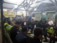 Jelang Sidang MK : Kapolsek Jatiuwung Ajak Semua Ormas Jaga Kamtibmas