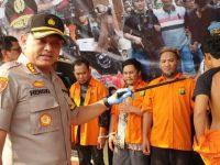 4 Perusuh Pembakaran dan Penjarahan Kendaraan Operasional Brimob Adalah Kelompok Kriminal