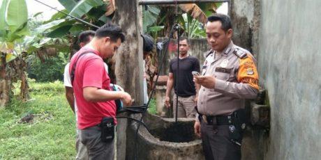 Polisi Identifikasi Penemuan Mayat Bayi Terapung di Dalam Sumur