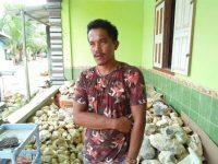 Butuh Dukungan Pemkab Untuk Kembangakan Industri Kreatif Batu Alam Khas Sarolangun