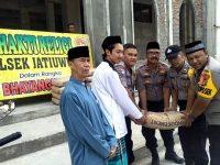 Kapolsek Jatiuwung Anjang Sana Tokoh dan Bakti Religi Jelang HUT Bhayangkara Ke-73