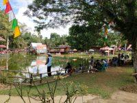 Memperingati Hut Bayangkara ke 73, kapolsek Bangko Buka Lomba Memancing