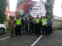 Satlantas Polres Merangin Bagi-Bagi Sim Gratis Dalam Rangka HUT Bhayangkara
