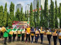 HUT Bhayangkara Ke 73 TNI – Polri di Jakarta Barat Olahraga Bersama
