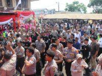 Semarakan Hut Bhayangkara ke-73, Polres Jakarta Barat Gelar Pesta Rakyat dan Syukuran