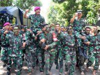 Panglima TNI Tinjau Latihan Tempur Armada Jaya ke-37 di Situbondo Jawa Timur
