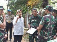 Pangdam Jaya Bersama Wali Kota Tangsel Tinjau Lokasi Pembangunan Koramil Pamulang
