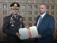 Berhasil Bongkar Kartel Jaringan Internasional, US DEA beri Penghargaan Kepada Polres Metro Jakarta Barat