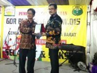 Wakil Walikota Meresmikan GOR Bulu Tangkis Di RW 15 Taman Palm Cengkareng Barat