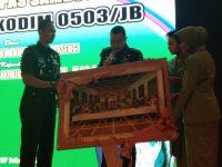 Letkol ARH.R Jatmiko Adhi.SE.M.I.Pol Resmi Jabat Dandim 0503/JB