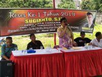 Reses Pertama Tahun 2019 Anggota DPRD Tanggerang Fraksi PDIP Mendapat Berbagai Keluhan Dari Warga Di Dapilnya