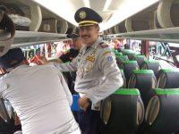 Di Temukan Enam Kendaraan Tidak Layak Jalan Pada Ram Cek Pra Angkutan Lebaran di Terminal Kalideres
