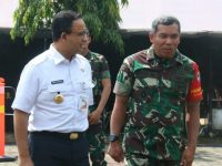 Pangdam Jaya Bersama Anis Baswedan Tinjau Keamanan Jakarta Pasca Pemilu