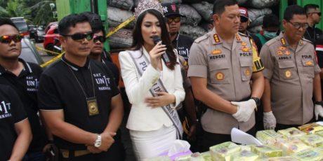 Putri Indonesia Duta Anti Narkoba Prihatin Dengan Maraknya Peredaran Narkoba Di Indonesia